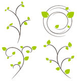 Nature tree symbol illustration Stock Photos