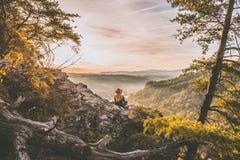 Nature, Tree, Wilderness, Mountainous Landforms Stock Photography