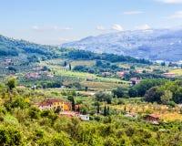 Nature Tuscany Royalty Free Stock Photography