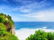 Coast of Bali Island Royalty Free Stock Images