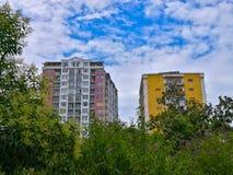 Nature and urbanization Royalty Free Stock Images