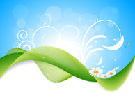 Nature Vector Background Royalty Free Stock Photography