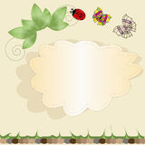 Nature vector background Stock Photo