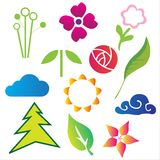 Nature Vector elements Stock Photos