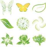 Nature VECTOR set Stock Photos