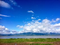 Nature view of Phayao lake Stock Photo