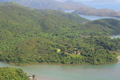Nature view of sai kung Stock Photography