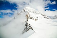 Nature View of Snow Mountain Royalty Free Stock Image
