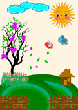 Nature View Vector Stock Photography