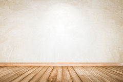 Nature wall perspective warm wooden floor texture. Royalty Free Stock Photos