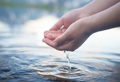 Nature water concept Stock Image