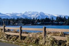 Nature, Water, Mountainous Landforms, Mountain royalty free stock photo