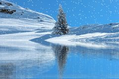 Nature, Water, Sky, Winter stock image