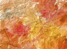 Nature watercolor background stock images