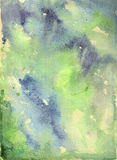 Nature watercolor background royalty free stock photography