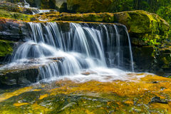 Nature waterfall stock photography