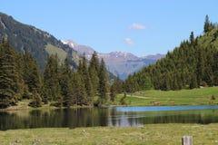 Nature, Wilderness, Mountainous Landforms, Lake stock image