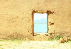 Nature window Royalty Free Stock Image