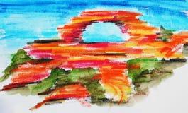 Nature window Kalbari Royalty Free Stock Photo