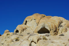 Nature wonders, Alabama Hills, California. Rock formations in the Alabama Hills, California Stock Image