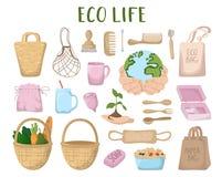 NatureEcologyPollution ilustração royalty free