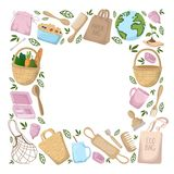 Nature Ecology Pollution vector illustration