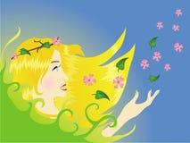 NatureGirl illustration libre de droits