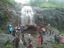 Naturel place at kasara. Ghat section waterfall Stock Photo
