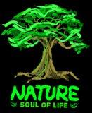 Naturen är anda av liv royaltyfri fotografi