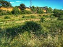 Naturen är vår väg Royaltyfria Foton
