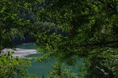 Naturen av Abchazien Royaltyfri Foto