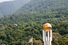 Naturen av Abchazien Royaltyfria Bilder