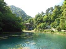 Naturen av Abhazia Arkivfoton