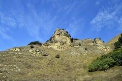 Naturen av det norr Kaukasuset Royaltyfri Bild