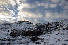 Naturen av Faroeen Island Arkivbild
