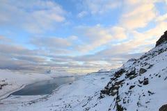 Naturen av Faroeen Island Royaltyfria Bilder