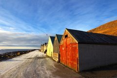 Naturen av Faroeen Island Arkivbilder