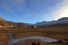 Naturen av Faroeen Island Royaltyfri Fotografi
