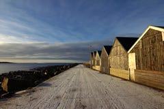 Naturen av Faroeen Island Royaltyfria Foton