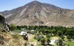 Naturen av Kirgizistan Arkivfoton