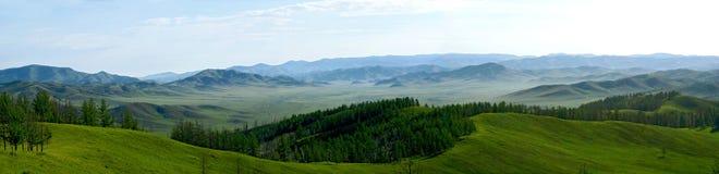 Naturen av Mongoliet Arkivfoto
