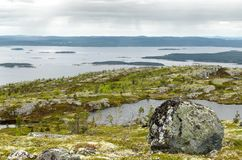 Naturen av norden Royaltyfri Fotografi
