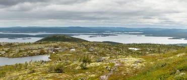Naturen av norden Arkivfoto