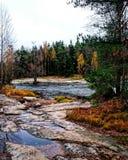 Naturen av Skandinavien Arkivbild