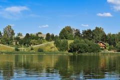 Naturen av Vitryssland Arkivfoto