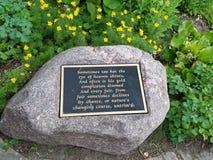 Naturen, die Kursdenkmal Lincoln Park ändern Lizenzfreie Stockfotos