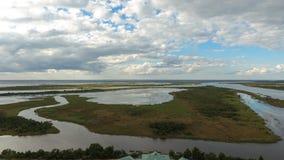 Naturen för 5 floder parkerar och deltan för mobil fjärd Royaltyfria Bilder