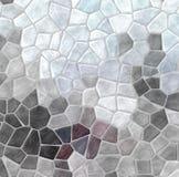 Naturen marmorerar plast- steniga mosaiktegelplattor texturerar bakgrund med grå grout - kritisera gråa och malvafärgade purpurfä royaltyfri illustrationer