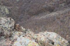 Naturen parkerar blå ` vaggar ` - Bulgarien, Sliven Royaltyfria Foton
