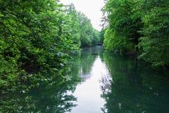 Naturen parkerar vatten Royaltyfria Bilder